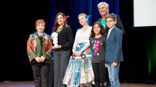 Climate Arts Award for Orfe EcoArt Program