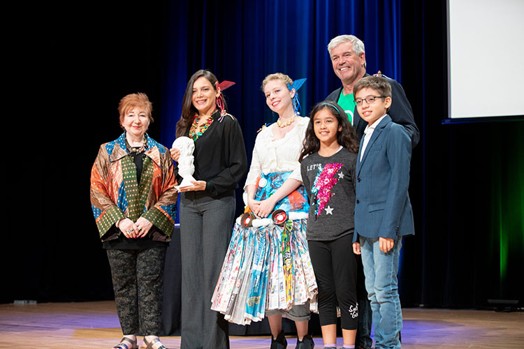 Climate Arts Award for Orfe EcoArt Program